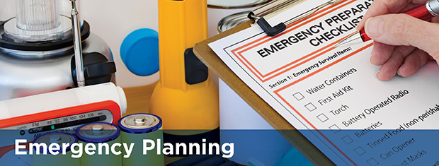 Emergency Planning page banner image